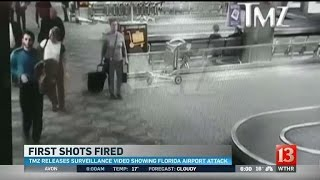 TMZ releases video of shooter in airport