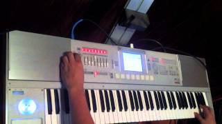 TUTORIAL TECLADO TALENTO DE TV WILLIE COLON