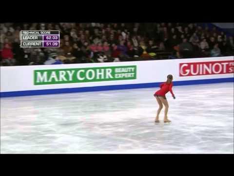 Julia Lipnitskaia   2014 European Figure Skating Championships -NO NARRATION