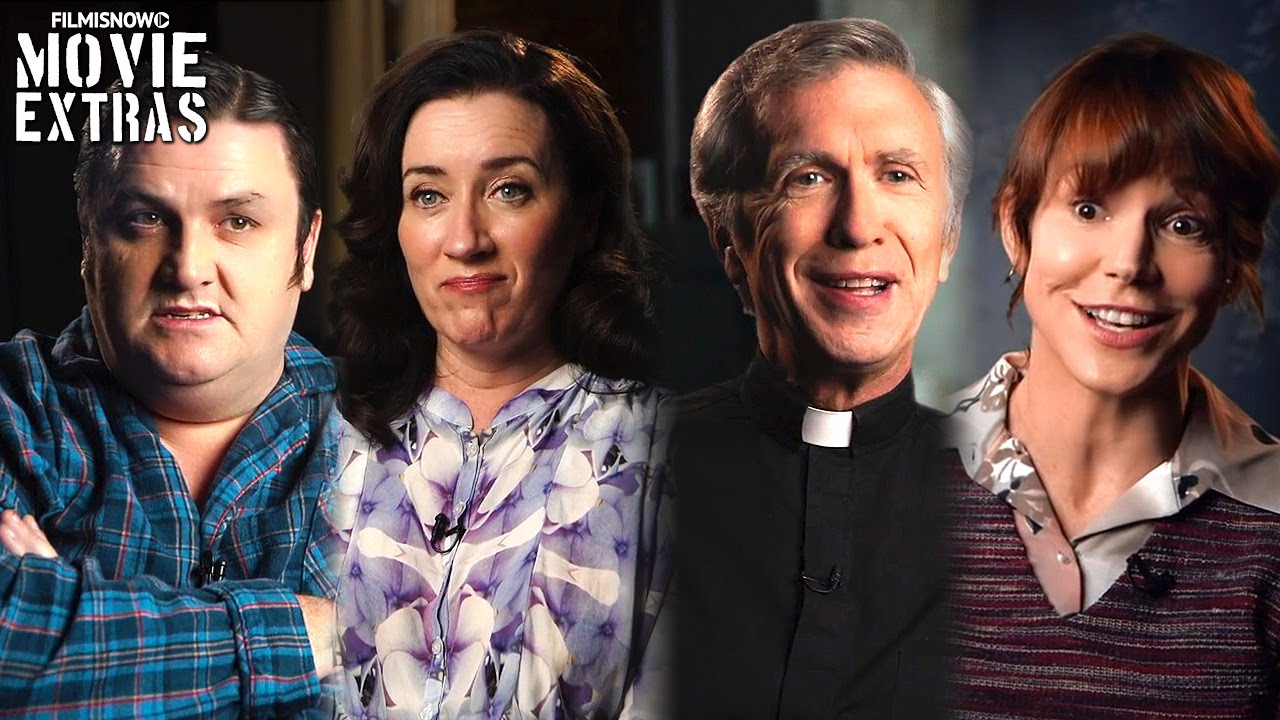 The Conjuring 2 On-set with Frances O'Connor Simon Delaney Maria Doyle Steve Coulter Franka Potente