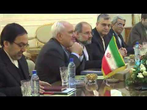 German FM Frank Walter Steinmeier in Tehran