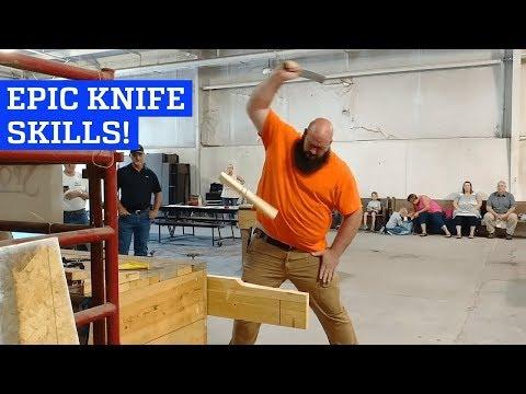 Đẳng cấp dùng dao của những bậc cao thủ