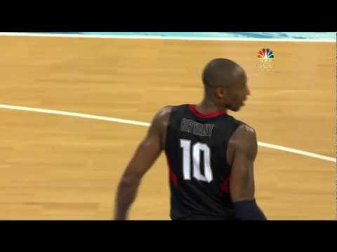 Kobe Bryant s clutchest game 2008 Olympics USA