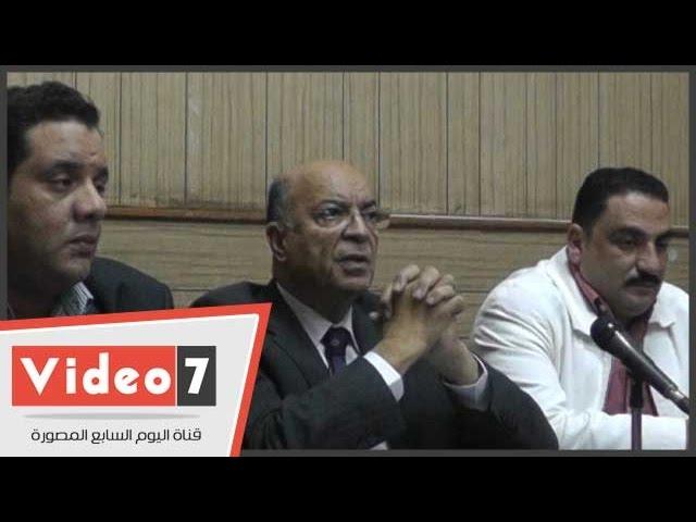 """مفاجأة ..نقيب الصيادلة يستقيل فى مؤتمر صحفى بسبب"""" الإخوان"""""""