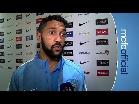 CLICHY ON AGUERO ASSIST I City 1 - 0 United - Premier League