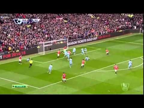 Full Highlight Manchester United vs Manchester City (12 April 2015)