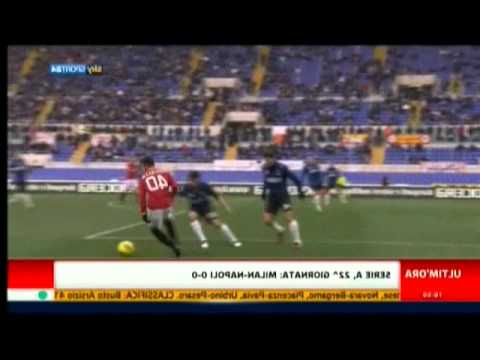 Roma – Inter 4 – 0 Highlights Sky Sport 24 HD 05/02/2012