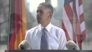 Barack Obama in Berlin: full speech