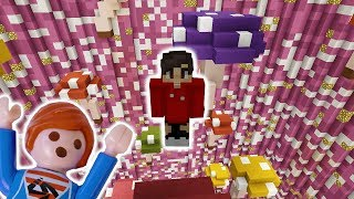 JULIAN SPIELT MINECRAFT GRAVITY IM MULTIPLAYER! Playmobil Film Deutsch - Kinderspiel Familie Vogel