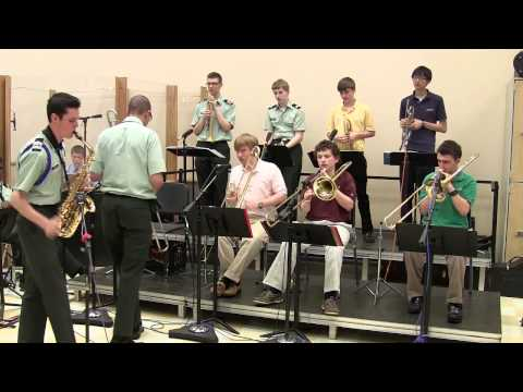 Cantaloupe Island: Xavier High School jazz band 2013