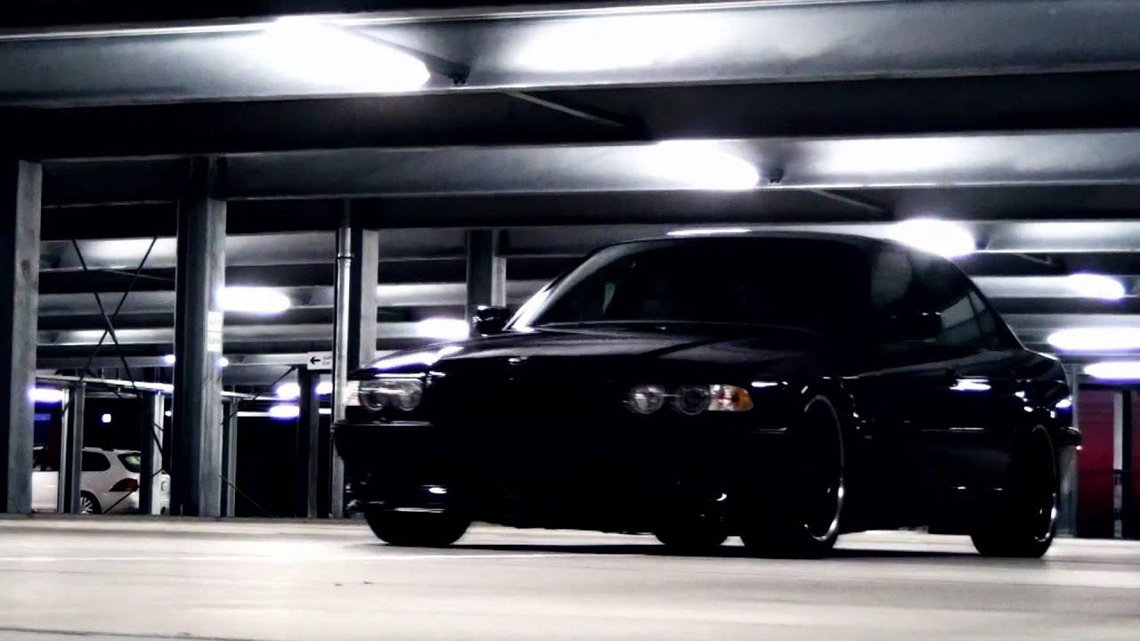 Slammed E38 740 V8 Black Beauty Youtube