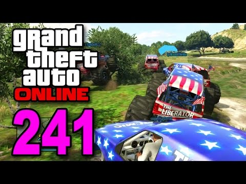 Grand Theft Auto 5 Multiplayer - Part 241 - Monster Truck Races (gta Online Let's Play) video