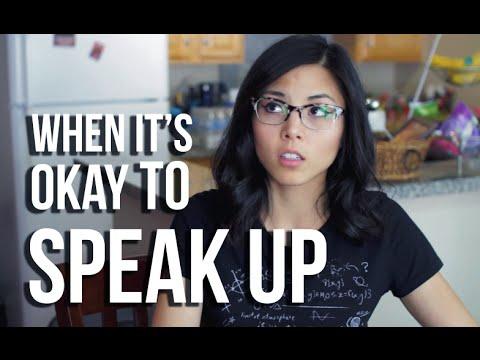 When It's Okay to Speak Up