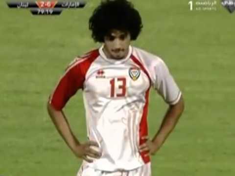 Back-heel penalty kick by UAE's Awana Diab, Can ronaldo fo.