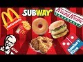 FAST FOOD CLONE Compilation - Try not to get HUNGRY!