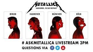 AskMetallica Livestream Fan Chat  Nov 16th 3pm CET