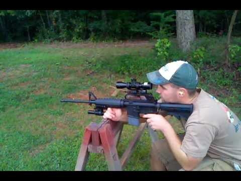 Nikon p-223 sighting in ar-15