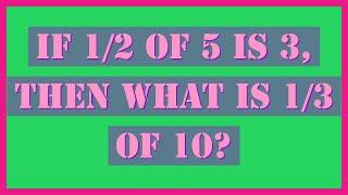 Maths Games, Math Riddles, Math Puzzles and IQ Test