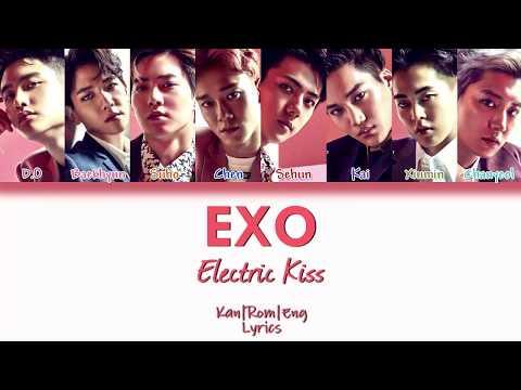 EXO - Electric Kiss (Kan/Rom/Eng Lyrics) カラオケ  歌詞付き