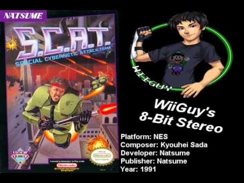 Scat: Special Cybernetic Attack Team (nes) Soundtrack - Stereo video