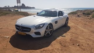 2017 mercedes amg gt review מבחן דרכים למרצדס