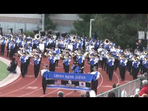 All-Izumo Honor Green Band - 2013 Pasadena Bandfest