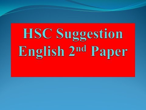 english hsc Hsc english first & second paper : questions 5 02 cambrian college' dhaka test examination - 2016 english : paper i part–i : reading (60 marks) 1 read the passage and answer the questions a and b [unit—6 lesson—1(2)] universities should never be made into mechanical organizations for collecting and distributing knowledge.