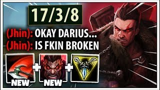 These Darius Changes Just Made Him BUSTED...Even a NOOB Can Get Challenger now ;)