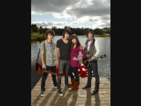 Jonas Brothers and Demi Lovato on Radio Disney 1-6-09 Part 1