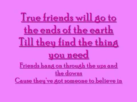 Hannah Montana True Friend Karaoke video