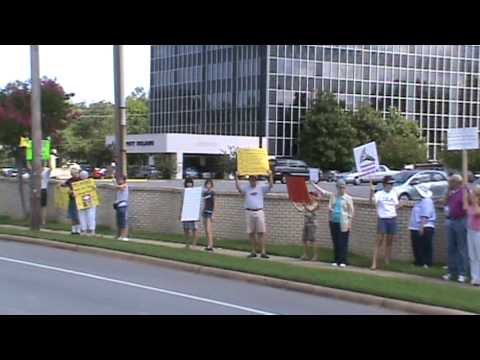 Recess Rally Xxx At Rep. Vic Snyder's Office video