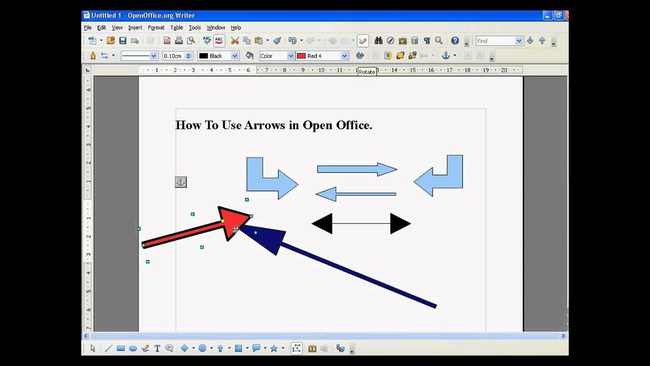 как в опен офисе делать диаграммы