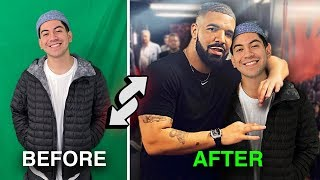 I FAKED being friends with Drake (this is what happened)