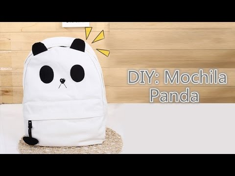 DIY: Panda Backpack