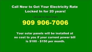 Solar Energy Systems | 909 906-7006 | Solar Power Inland Empire