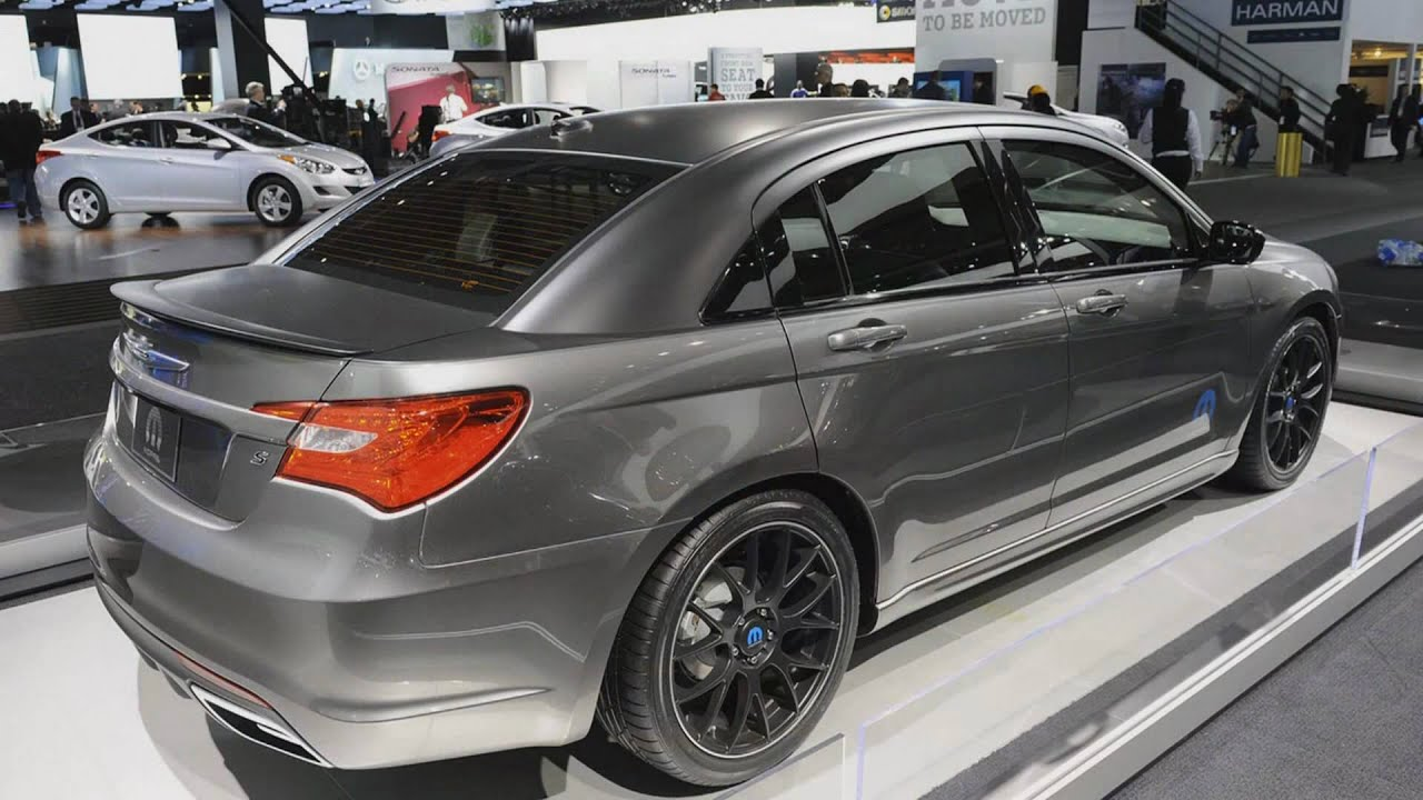 2011 Chrysler 200 Super S (2011 NAIAS) - YouTube