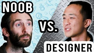 Noobs Vs. Starcraft 2 Game Designers