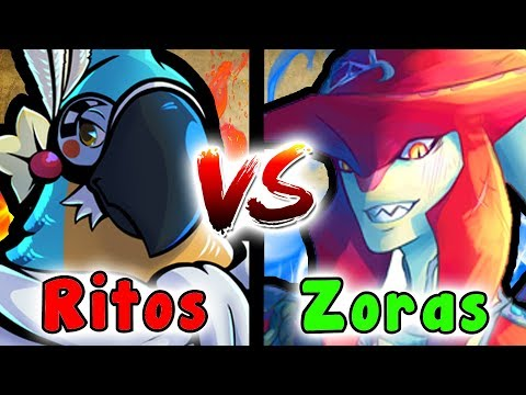 What If The RITO & ZORA Ended Up In A BATTLE? (The Legend Of Zelda VS)