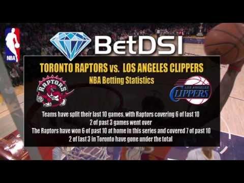 Toronto Raptors vs LA Clippers   NBA Odds and NBA Betting Picks