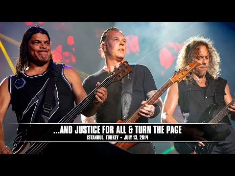 Metallica: ...and Justice For All And Turn The Page (metontour - Istanbul, Turkey - 2014) video