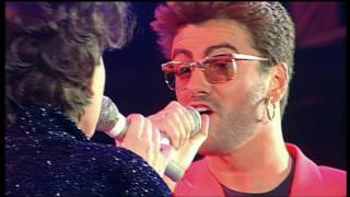 George Michael With Lisa Stansfield These Are The Days Of Our Lives Live Vocal Version