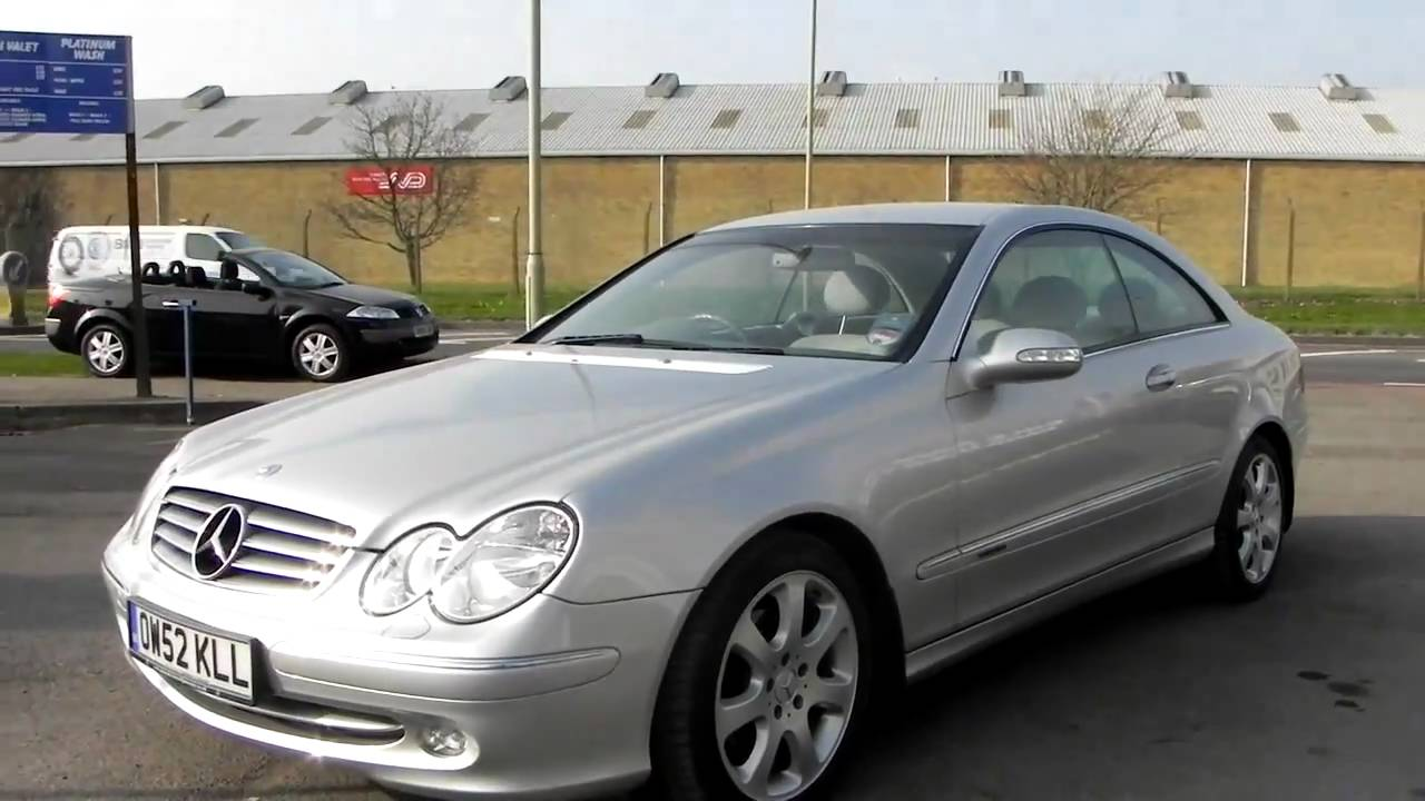 2003 mercedes benz clk 270 cdi elegance youtube. Black Bedroom Furniture Sets. Home Design Ideas