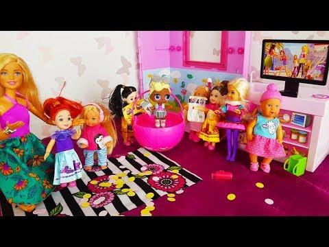 Bajka kompilacja Barbie Playmobil Strażak Sam Świnka Peppa cały czas - Bajki dla dzieci