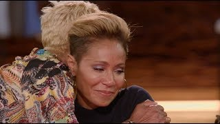 Red Table Talk: Jada Pinkett Smith and Mom Cry Talking Domestic Violence