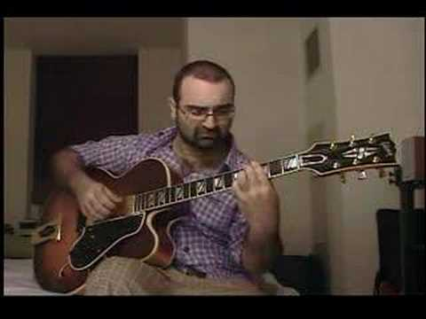 Solo Jazz Guitar Girl From Ipanema Ted Greene arrangement