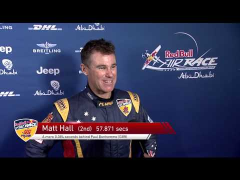 Matt Hall Racing 2015 Red Bull Air Race Abu Dhabi Highlights