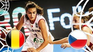 Belgium v Czech Republic - Class. 5-6 - Full Game - FIBA U18 Women's European Championship 2018