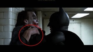 The Dark Knight Rises - Great Movie Mistakes: THE DARK KNIGHT (2008)
