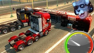 O ACIDENTE do RATÃO!!! - Euro Truck Simulator 2 MP!!!