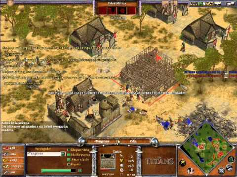 Age of Mythology The Titans x Hamachi: Urano VS Odin - Parte 2/2
